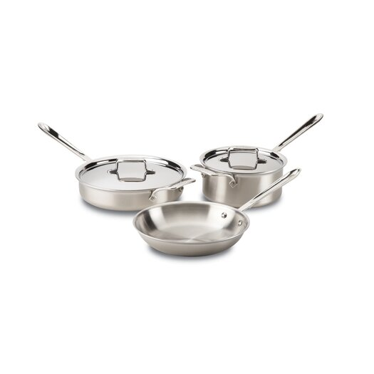 All-Clad Stainless Steel 5 Piece Cookware Set I