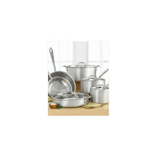 All-Clad Master Chef 10-Piece Cookware Set