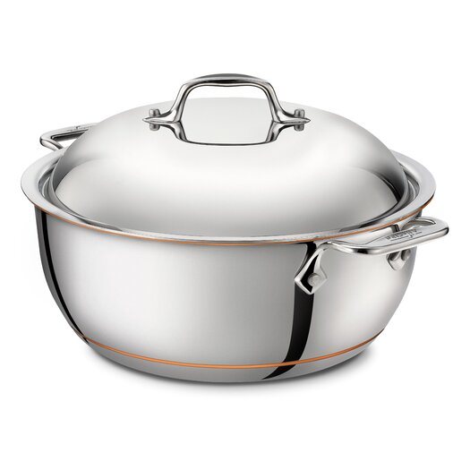 All-Clad Copper Core 5.5-qt. Stanless Steel Round Dutch Oven