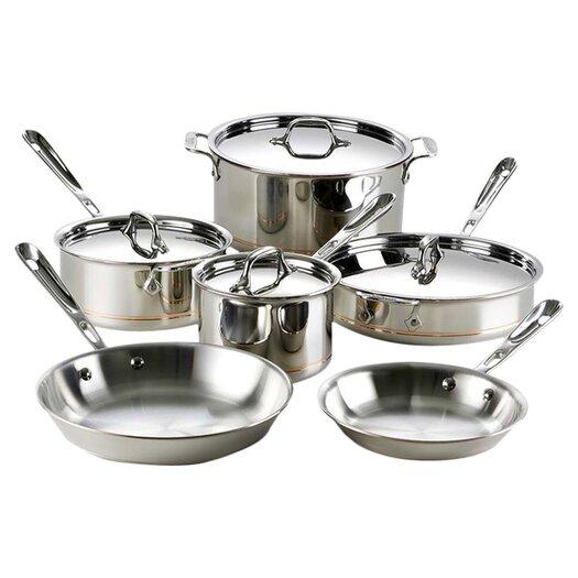 All-Clad Copper Core 10 Piece Cookware Set