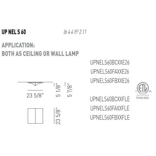Axo Light Nelly Straight Ceiling Light