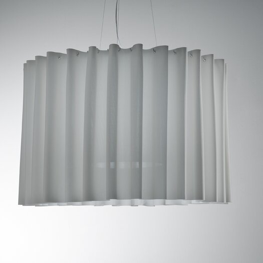 Axo Light Skirt Single Tier Drum Pendant (Fluorescent)