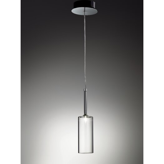 Axo Light Spillray 1 Light Spot Light with Crystal Shade