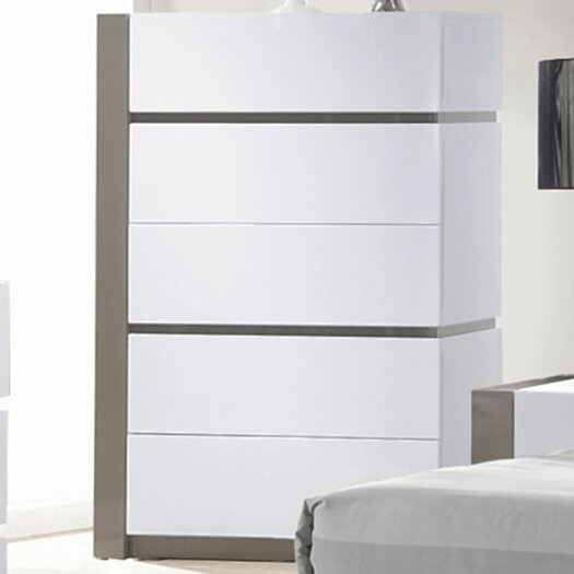 Chintaly Imports Manila 5 Drawer Chest