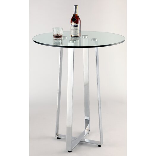Chintaly Imports Chambers Counter Height Pub Table