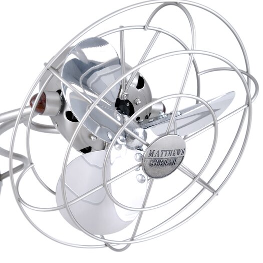 Matthews Fan Company Aluminum Fan Head with Cage