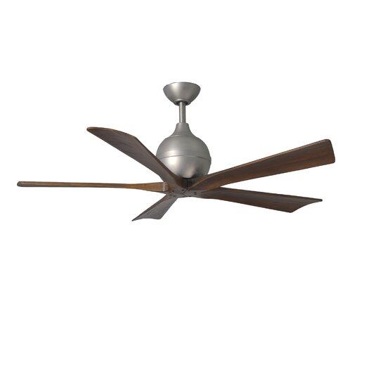 """Matthews Fan Company 52"""" Irene 5 Blade Ceiling Fan with Wall Remote"""