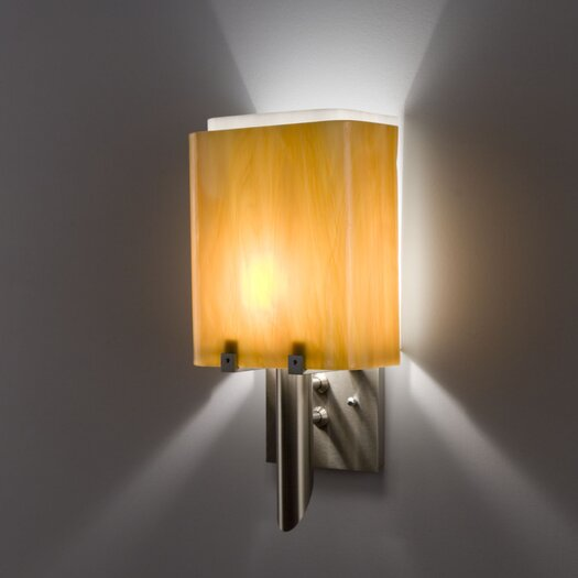WPT Design Dessy1/8 1 Light Single Pane Wall Sconce