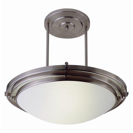 TransGlobe Lighting Indoor Semi Flush Mount