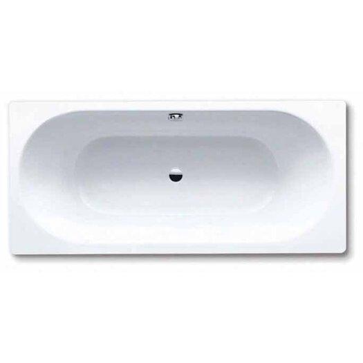 "Kaldewei Klassikduo 67"" x 28"" Three Wall Bathtub with Center Drain"