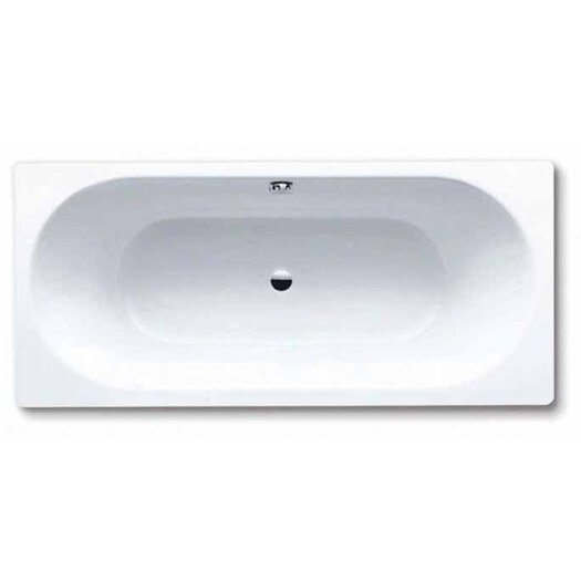 "Kaldewei Klassikduo 67"" x 30"" Three Wall Bathtub with Center Drain"