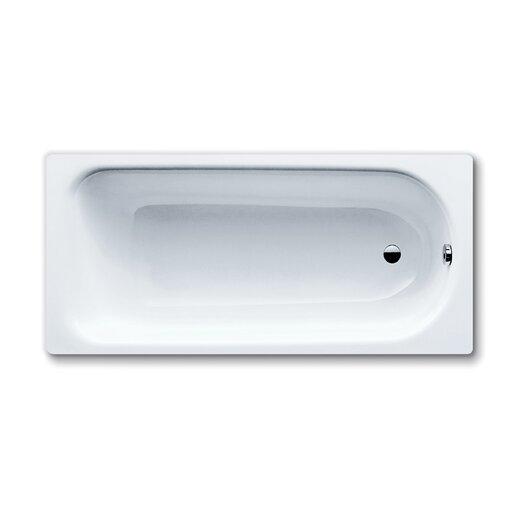 "Kaldewei Saniform Plus 67"" x 28"" Bathtub with Reversible Drain"