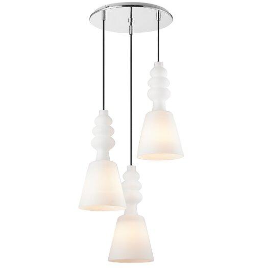 Golden Lighting Sil 3 Light Pendant