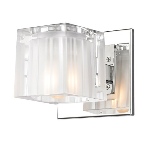 Golden Lighting Block 1 Light Wall Sconce