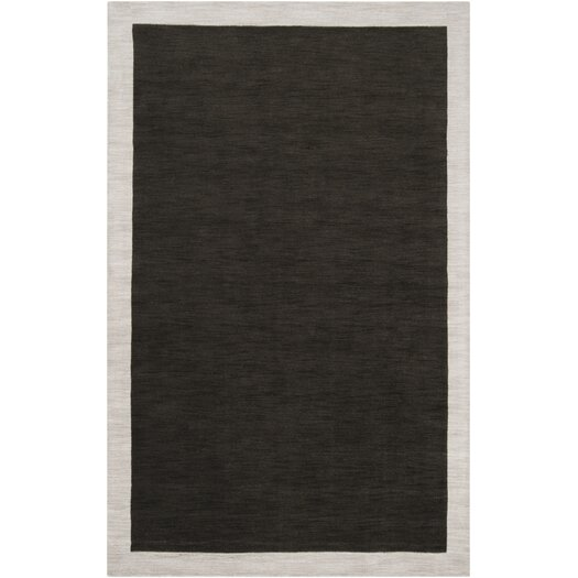 angelo:HOME Madison Square Coal Black/Oatmeal Area Rug