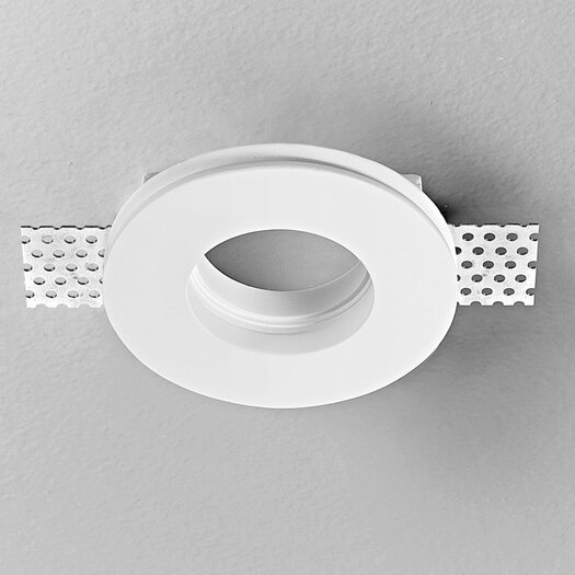 "Zaneen Lighting Invisibli Fixed LED 3.75"" Recessed Trim"