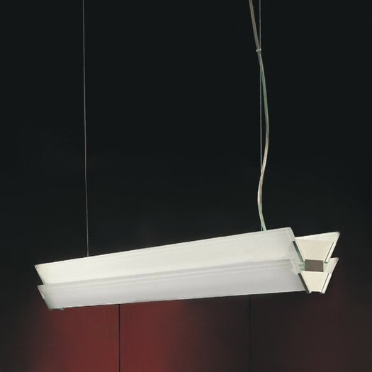 Zaneen Lighting Duplex Linear Pendant in Gray