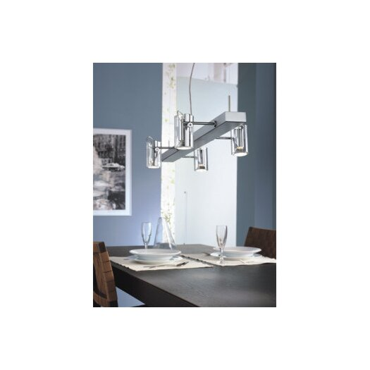 Zaneen Lighting Tu-B Four Light Pendant