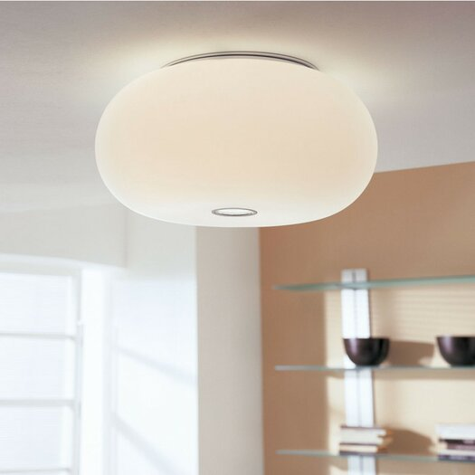 Zaneen Lighting Blow Two Light Ceiling Flush Mount
