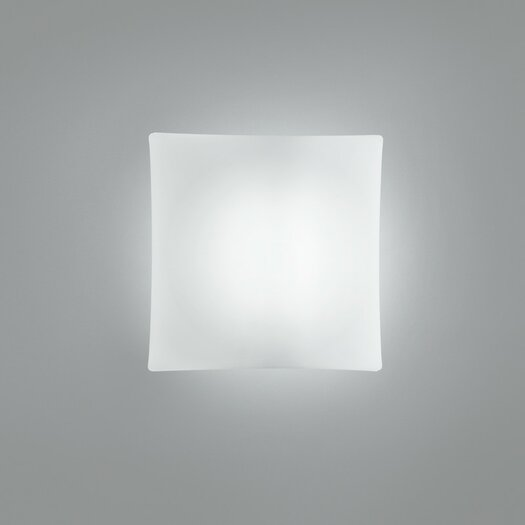 Zaneen Lighting Night One Light Flush Mount in White