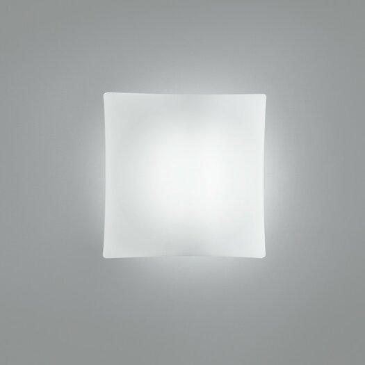 Zaneen Lighting Night One Light Flush Mount in White