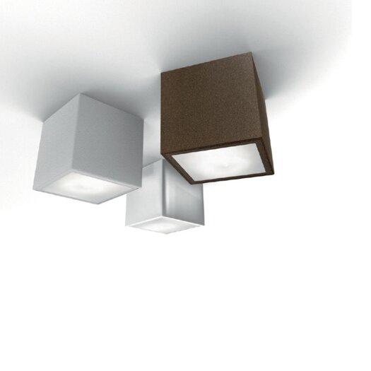 Zaneen Lighting Three 1 Light Semi Flush