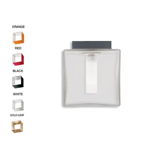 Zaneen Lighting Domino 1 Light Flush Mount