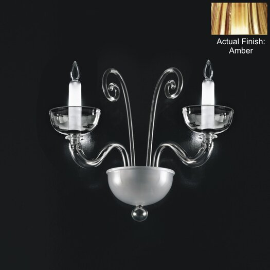 Zaneen Lighting Brera 2 Light Wall Sconce