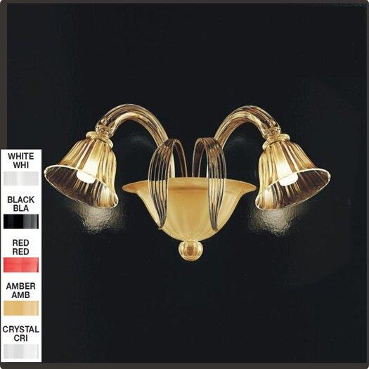 Zaneen Lighting D'Orsay 2 Light Wall Sconce