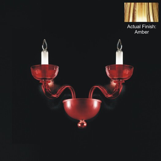 Zaneen Lighting Uffizi 2 Light Wall Sconce