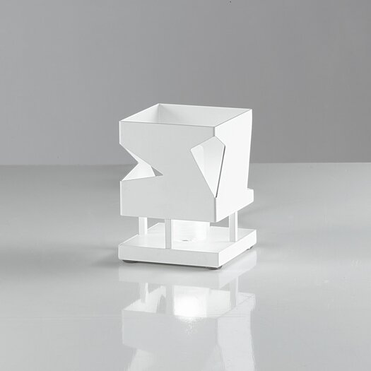 """Zaneen Lighting Tilly 4.25"""" H Table Lamp with Square Shade"""
