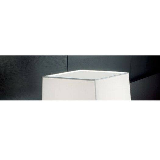 Carre Accessory Glass Screen in White