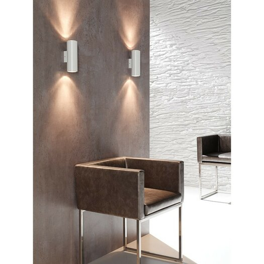 Zaneen Lighting Kronn 2 Light Wall Sconce