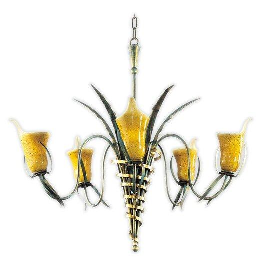 Zaneen Lighting Firenze Five Light Incandescent Chandelier