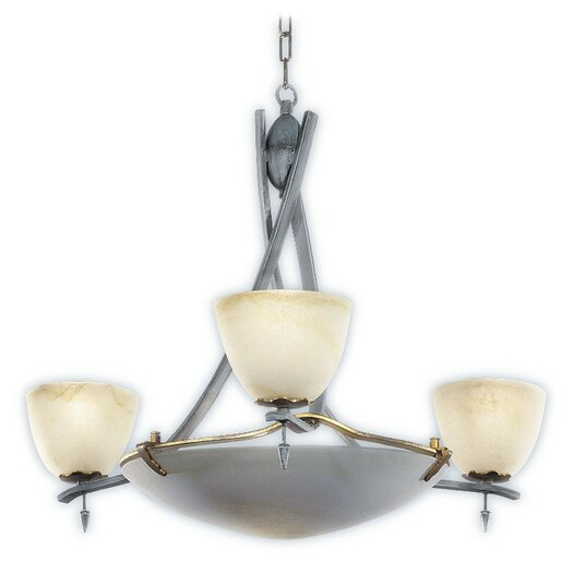 Zaneen Lighting Toscana Chandelier in Antique Slate