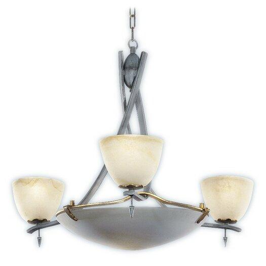 Zaneen Lighting Toscana Chandelier in Antique Slate