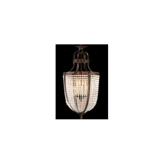 Zaneen Lighting Longas Fifteen Light Traditional Pendant in Oxidate Bronze