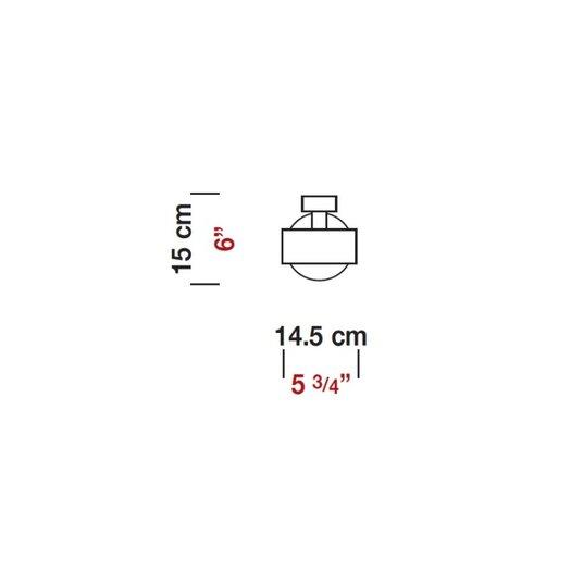 Zaneen Lighting Ring Semi Flush Mount
