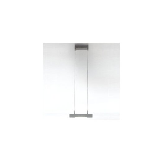 Zaneen Lighting Hera Single Light Mini Pendant in Anodized Aluminum