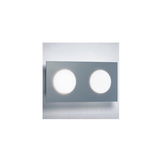 Zaneen Lighting Duo Two Light Wall or Ceiling Flush Mount