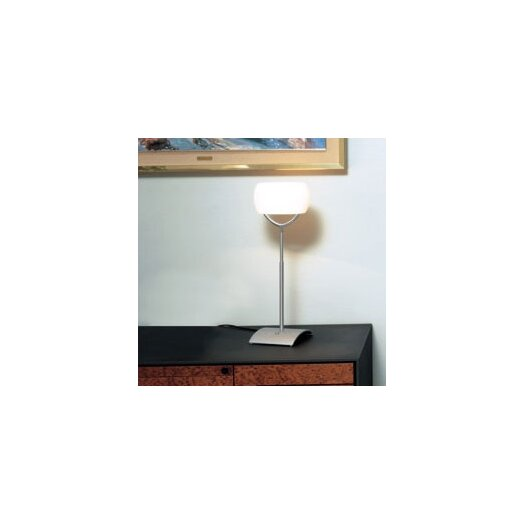 "Zaneen Lighting Muroa Contemporary 23"" H Table Lamp with Oval Shade"