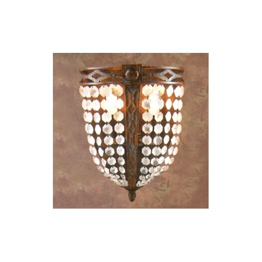 Zaneen Lighting Longas Traditional 2 Light Wall Sconce
