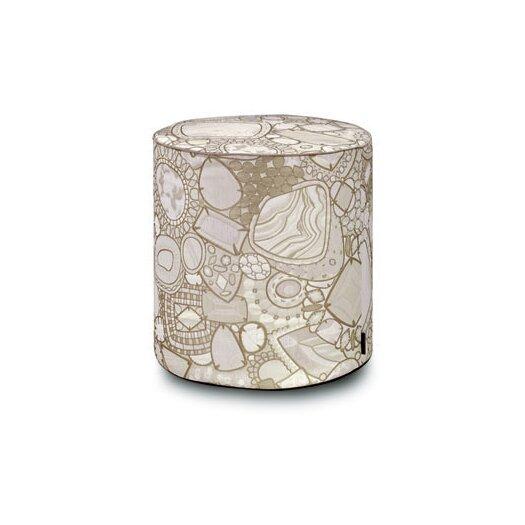 Pessac Cylindrical Pouf Ottoman