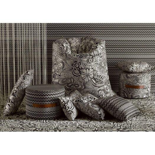 Missoni Home Black and White 2 Bean Bag Chair
