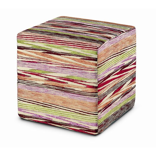 Missoni Home Norsewood Pouf Cube Ottoman