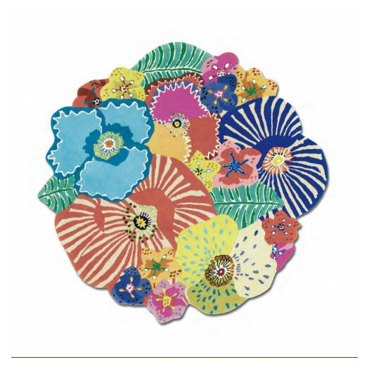 Missoni Home Oxley Round Muti Floral Rug