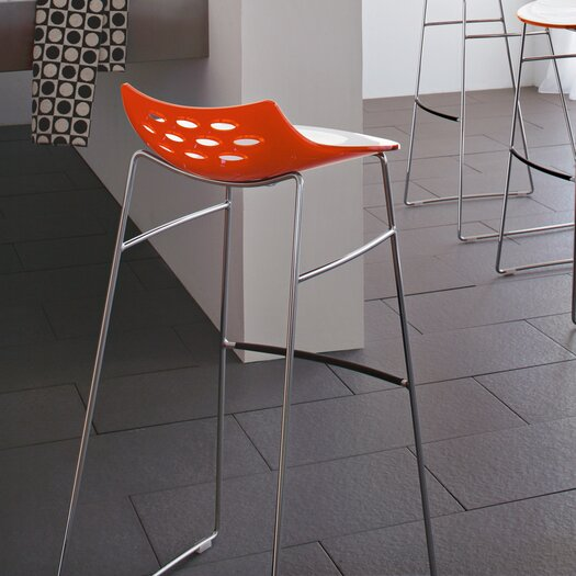 "Calligaris Jam Sled 25.63"" Base Stool"