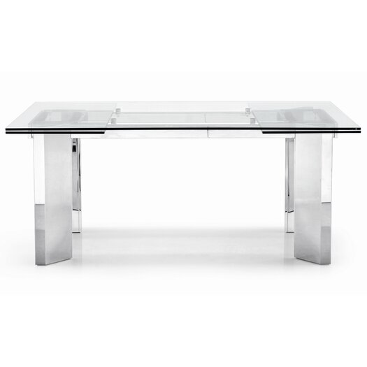 Tower Adjustable Extension Dining Table