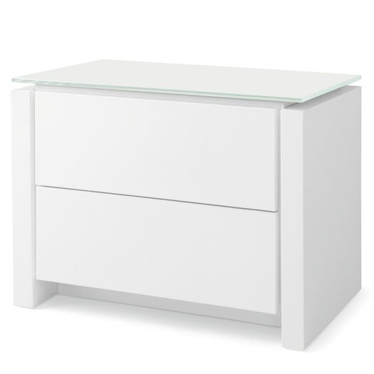 Mag 2 Drawer Nightstand