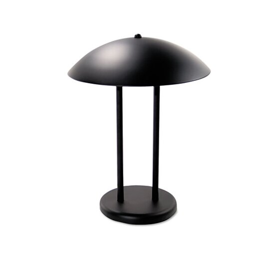 "Advantus Corp. Ledu Two-Pole Dome 16.25"" H Table Lamp with Bowl Shade"